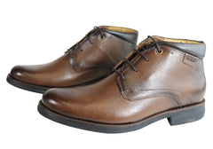 Ferricelli Ramond Mens Leather Gel Flex Comfort Boots Made In Brazil