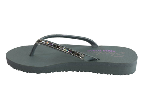 adaf8e475 Skechers Womens Meditation Desert Princess Comfy Thongs Flip Flops ...