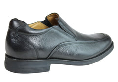Ferricelli Voyager Mens Leather Gel Flex Comfort Shoes Made In Brazil