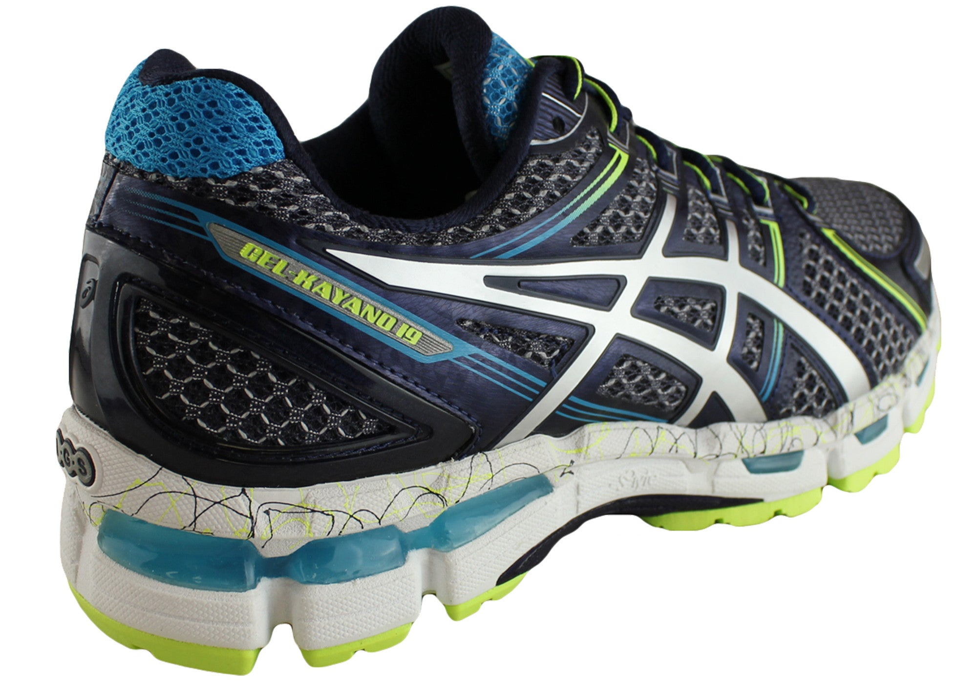 Asics Gel Kayano 19 Mens Premium Running Shoes