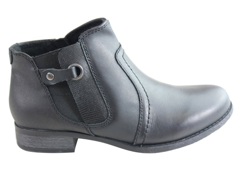 Planet Shoes Ramsgate Womens Comfortable Ankle Boots With Arch Support
