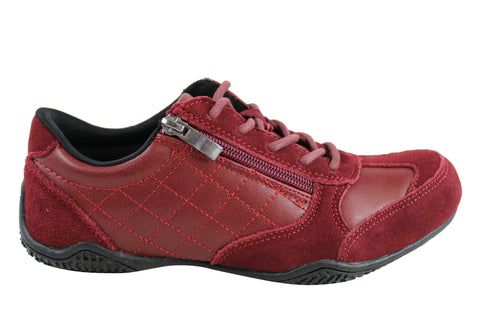 Scholl Orthaheel Quantum Womens Comfort Supportive Flat Casual Shoes