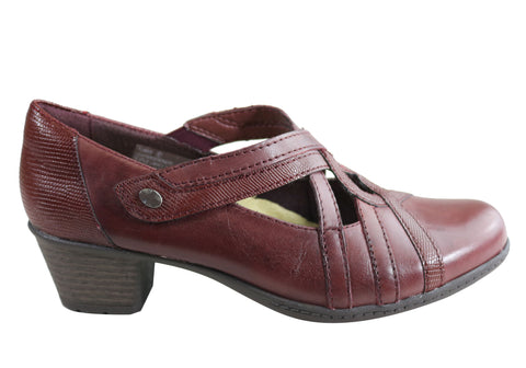 Planet Shoes Tower Womens Comfortable Low Heel Shoes With Arch Support