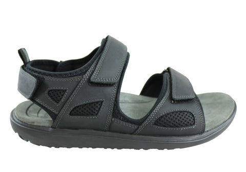 Scholl Orthaheel Pioneer Mens Comfortable Supportive Sandals