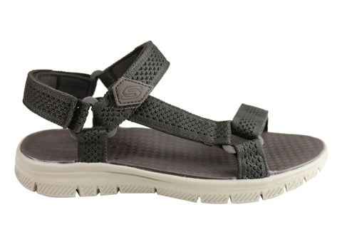 Skechers Mens Flex Advantage S Comfort Memory Foam Adjustable Sandals