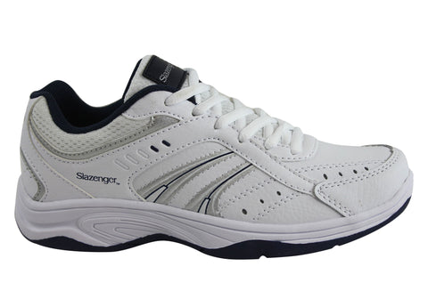 Slazenger Baseline Kids Durable Lace Up Shoes