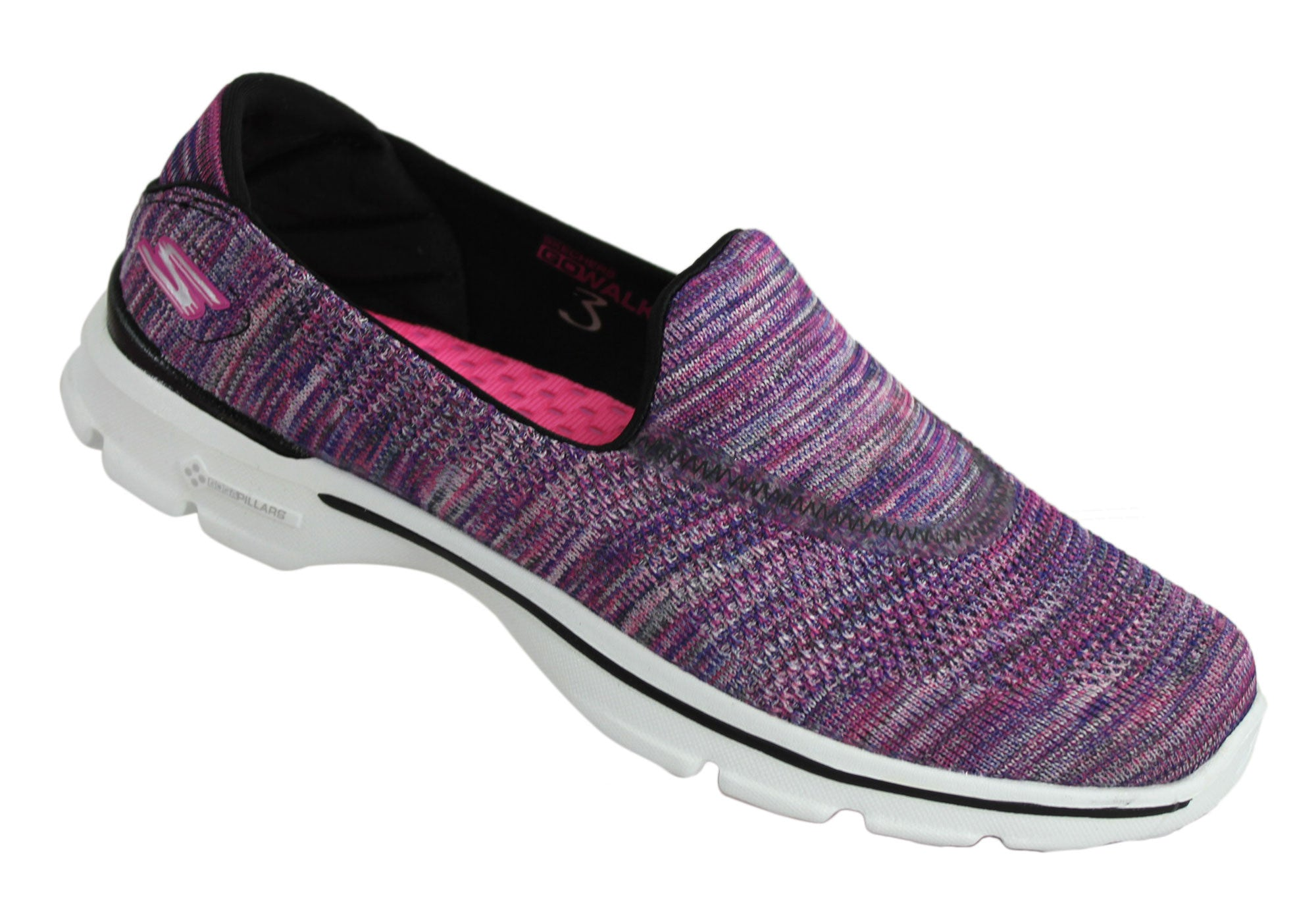 Skechers Go Walk 3 Fitnit Extreme Womens Casual Slip On Shoes