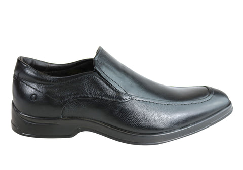 Democrata Ringo Mens Leather Cushioned Dress Shoes Made In Brazil