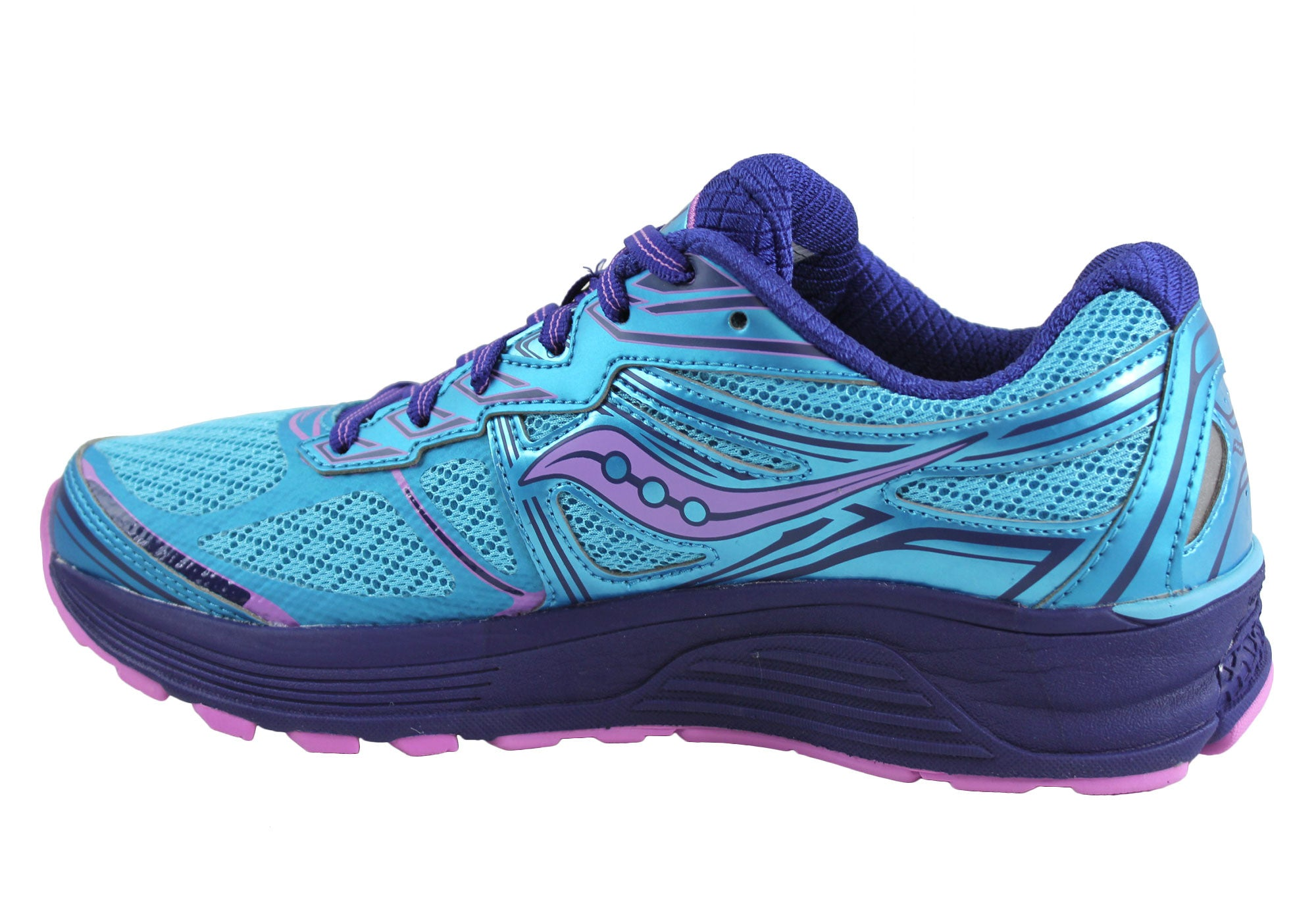 Saucony Guide 9 Womens Premium Cushioned Athletic Shoes
