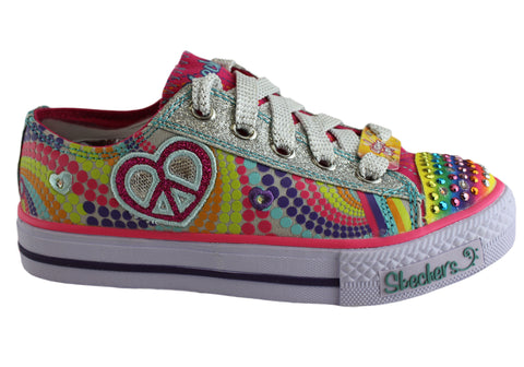 Skechers Twinkle Toes Heart Sparks Light Up sneakers