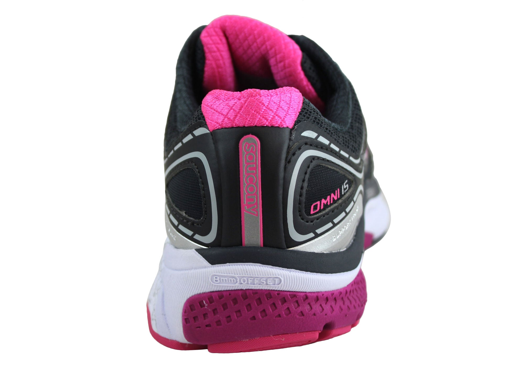 Saucony Omni 15 Womens (Wide Fitting) Cushioned Sport Shoes