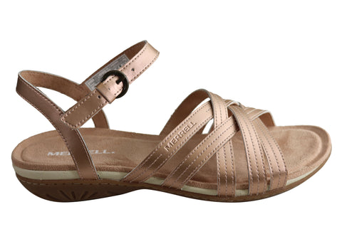 Merrell Womens Alexa Lattice Comfortable Strappy Sandals