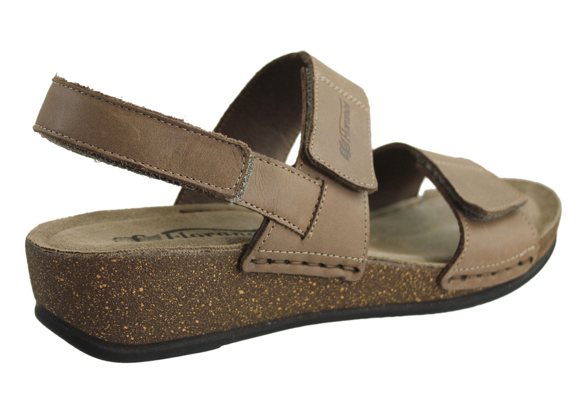 Florance 221061 Womens Leather Sandals Made in Italy