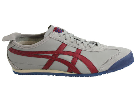 on sale 30f8a 30325 Asics Onitsuka Tiger Mexico 66 Mens Leather Lace Up Casual Shoes | Brand  House Direct