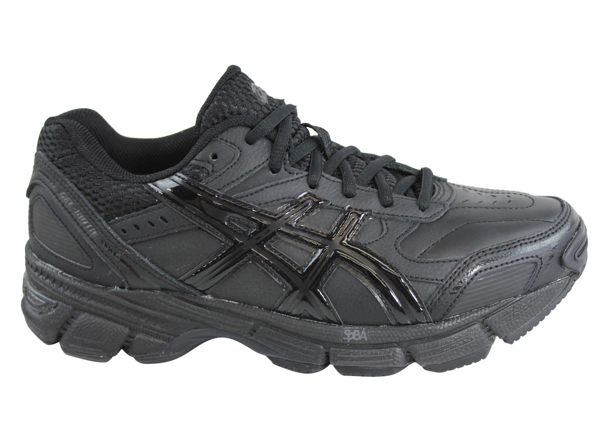 Asics Gel 180 TR Womens Leather Shoes 2E Extra Wide Fitting Great Deals Womens Shoes S85M1272J3