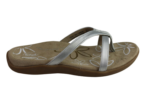 Scholl Orthaheel Moraga II Womens Supportive Orthotic Comfort Sandals