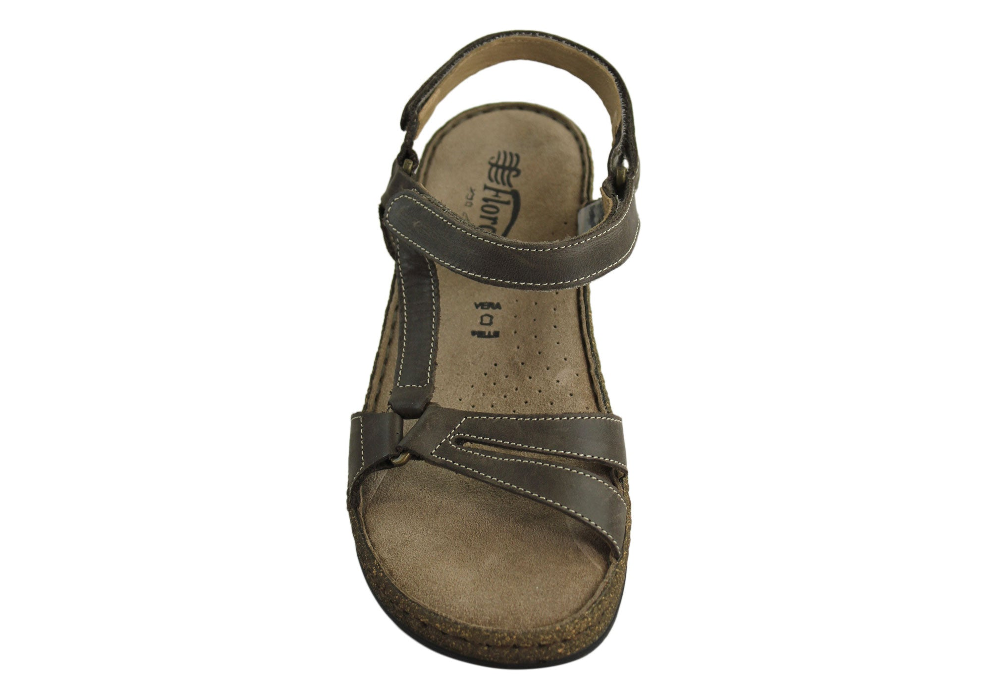 Florance 227101 Womens Leather Sandals Made in Italy