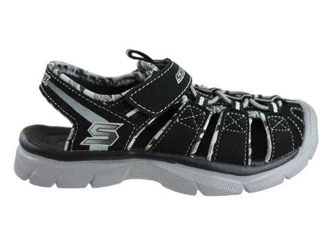 Skechers Relix Trophix Boys Toddler Kids Sporty Comfort Sandals