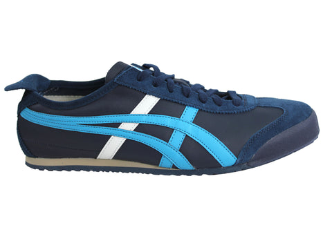 on sale bf5ef e6908 Asics Onitsuka Tiger Mexico 66 Mens Leather Lace Up Casual Shoes | Brand  House Direct