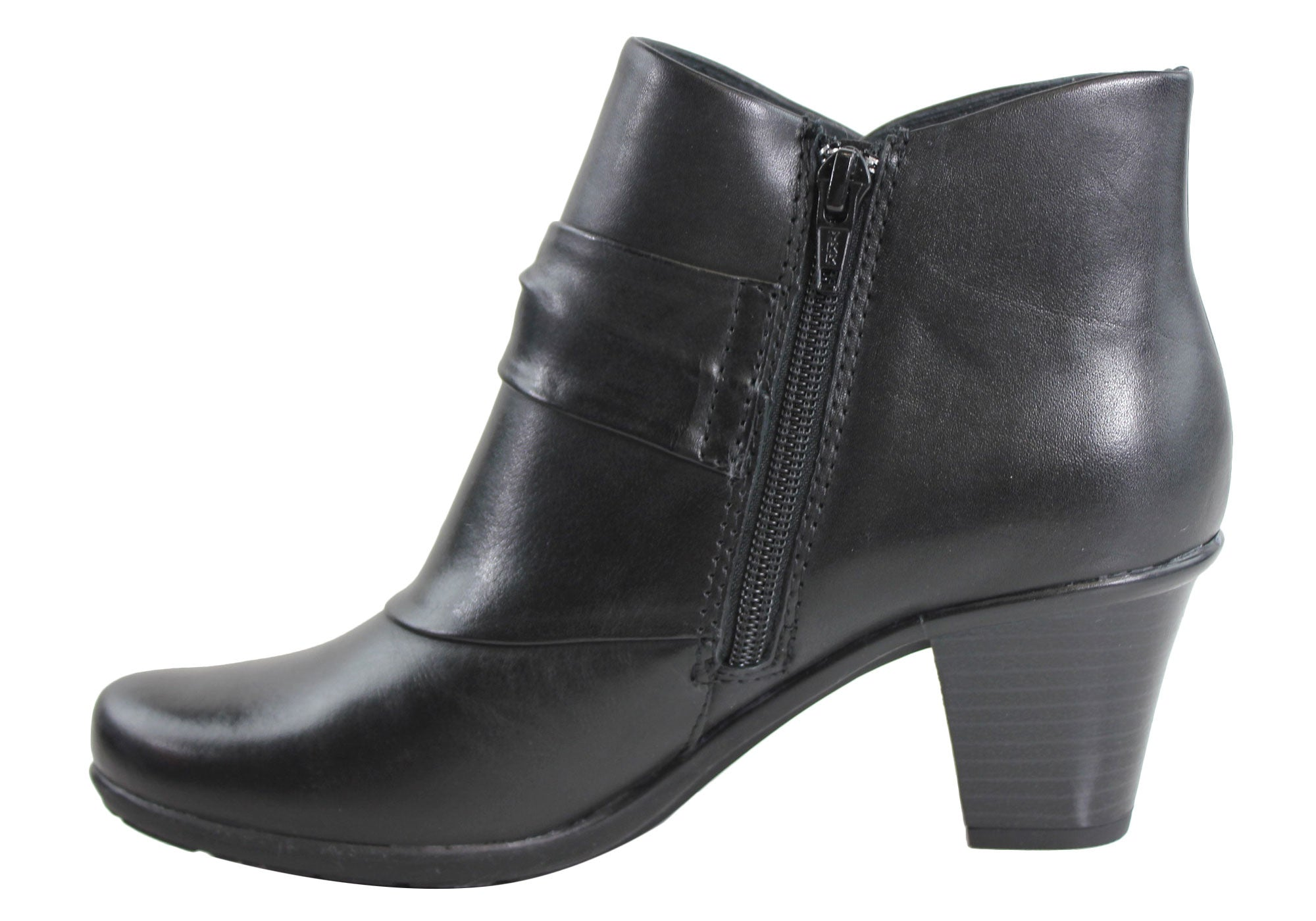 Planet Shoes Portia Womens Leather Ankle Boots