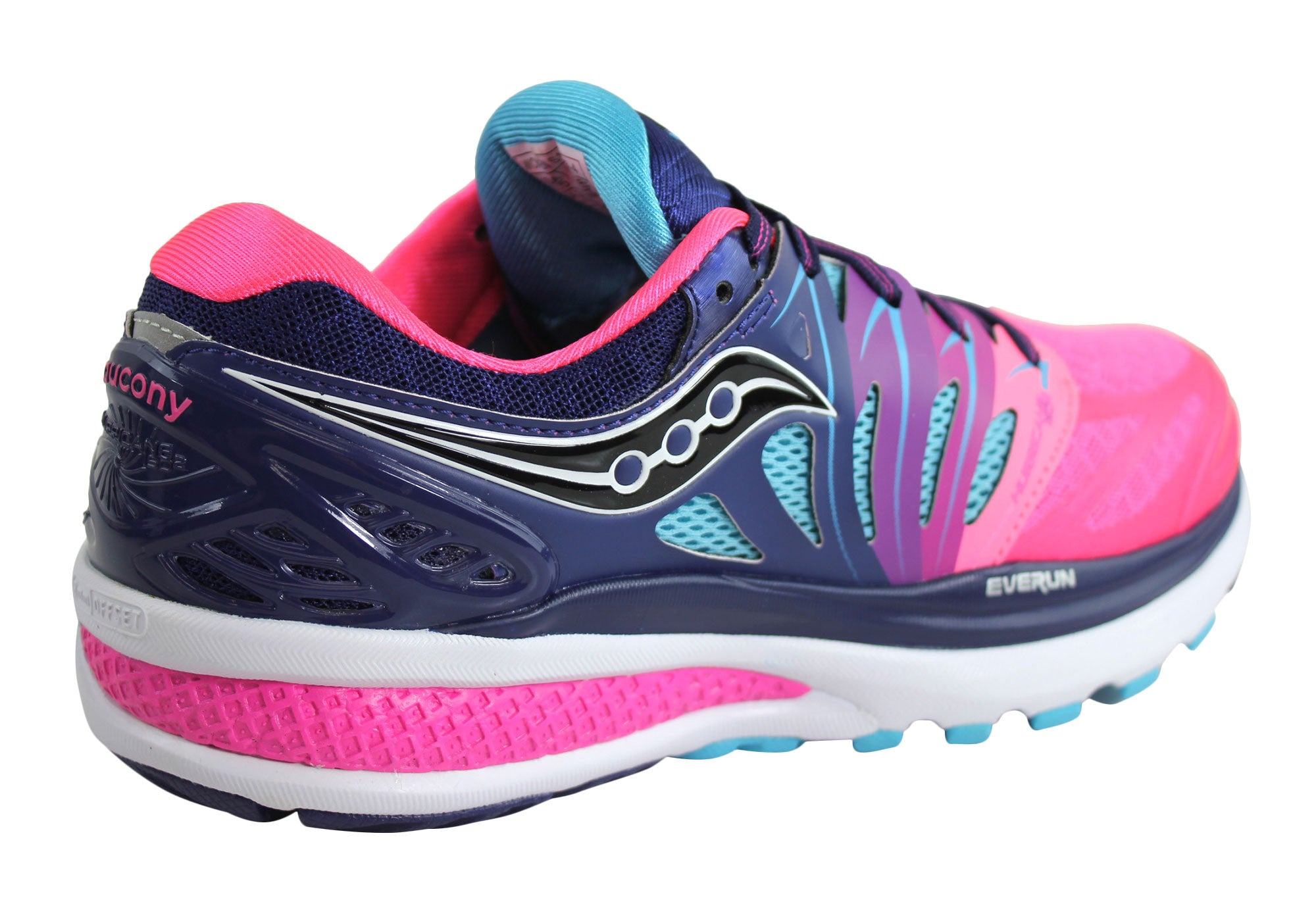 Saucony Hurricane Iso2 Womens Cushioned Running Shoes