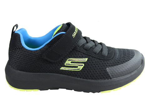 Skechers Boys Kids Dynamic Tread Comfort Memory Foam Athletic Shoes