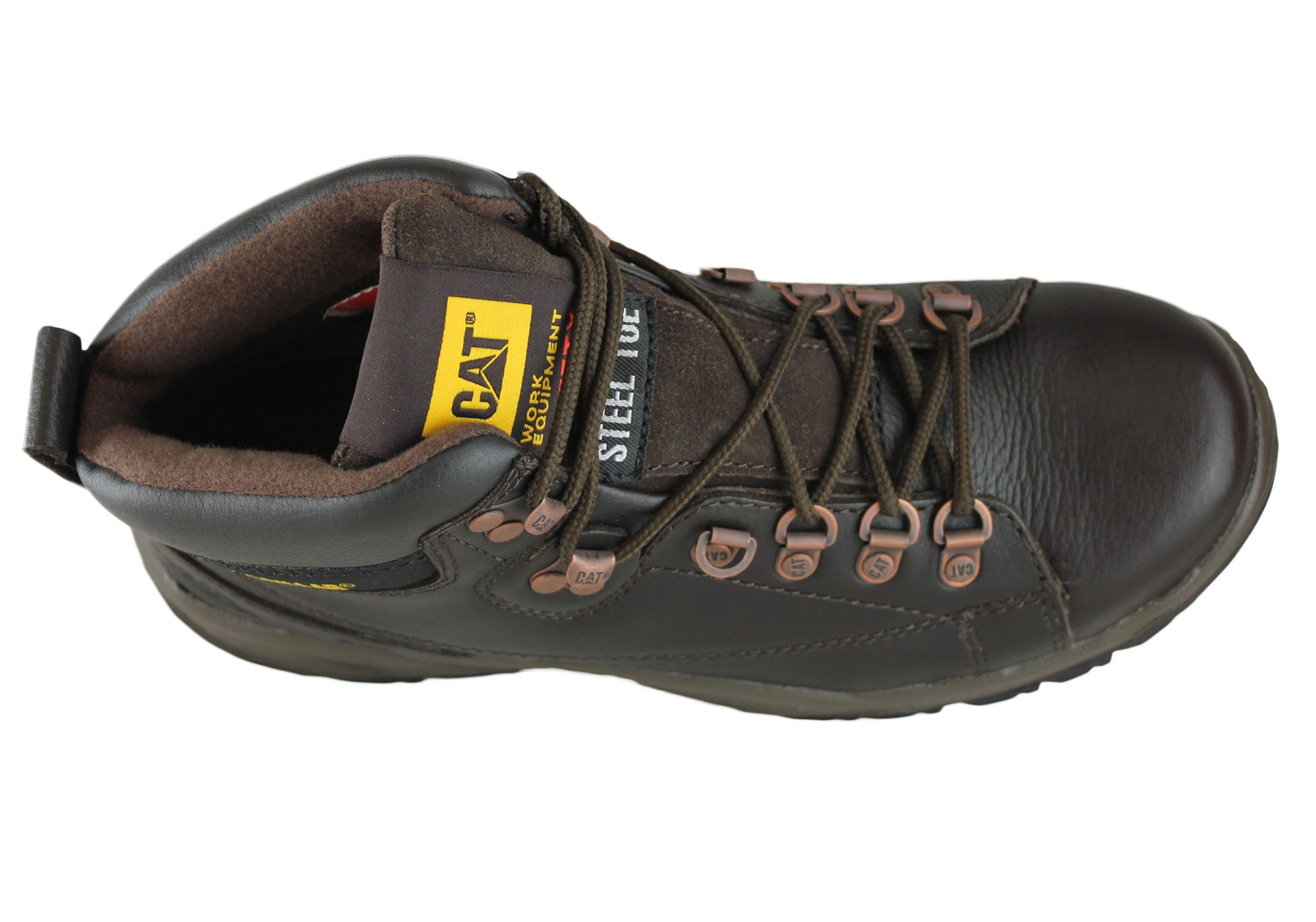 Caterpillar Cat Mens Extend Steel Toe Safety Boots