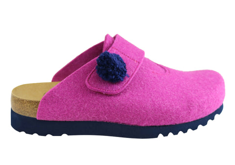 Scholl Bioprint Elvy Womens Comfort Supportive Slippers Shoes