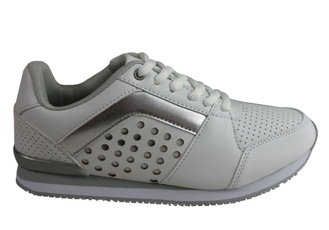 Scholl Orthaheel Venus Womens Comfort Supportive Active Casual Shoes