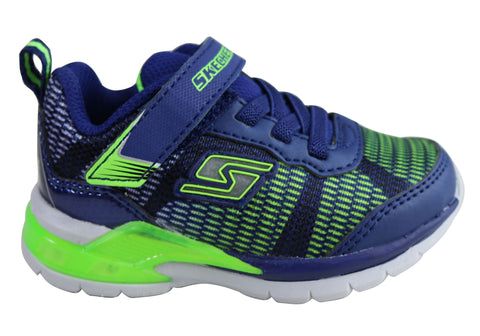 Skechers Infant Boys S Lights Erupters II Lava Waves Light Up Sneakers