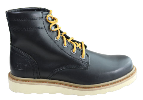 Caterpillar Chronicle Mens Comfortable Lace Up Leather Boots