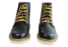 Caterpillar Chronicle Mens Comfortable Wide Width Leather Boots