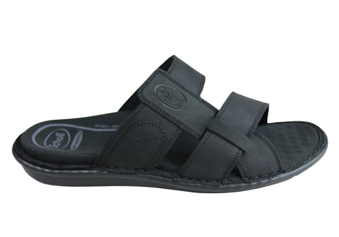 Scholl Orthaheel Rafa Mens Comfortable Supportive Slide Sandals