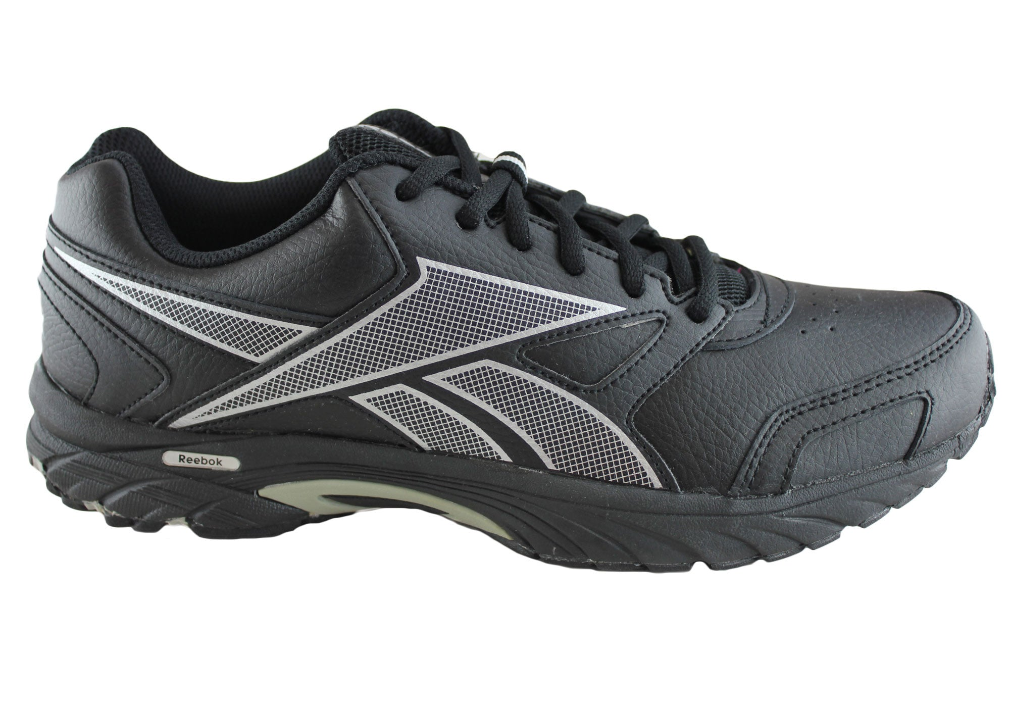 0dded9acd708 New Mens Reebok Triplehall Leather Running Walking Shoes
