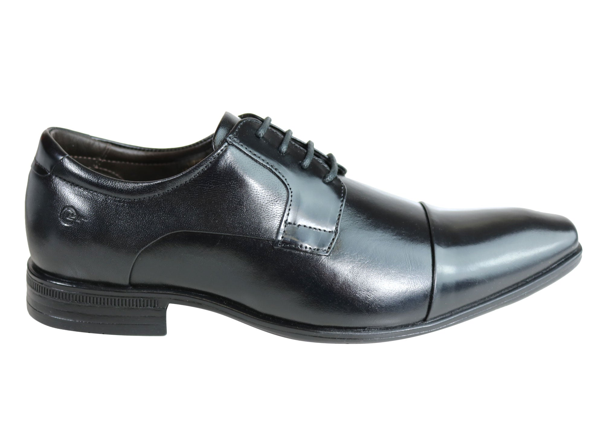 In Mens New Cushioned Dress Sko Made Parker Leather