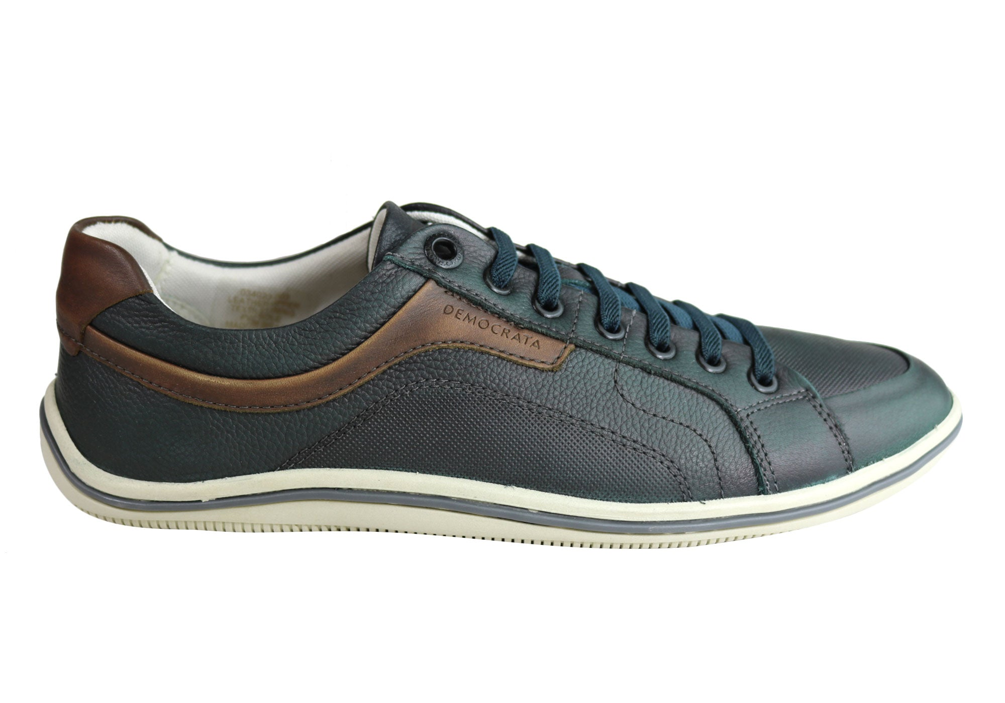 NEW-DEMOCRATA-MILES-MENS-LEATHER-SLIP-ON-CASUAL-SHOES-MADE-IN-BRAZIL thumbnail 6