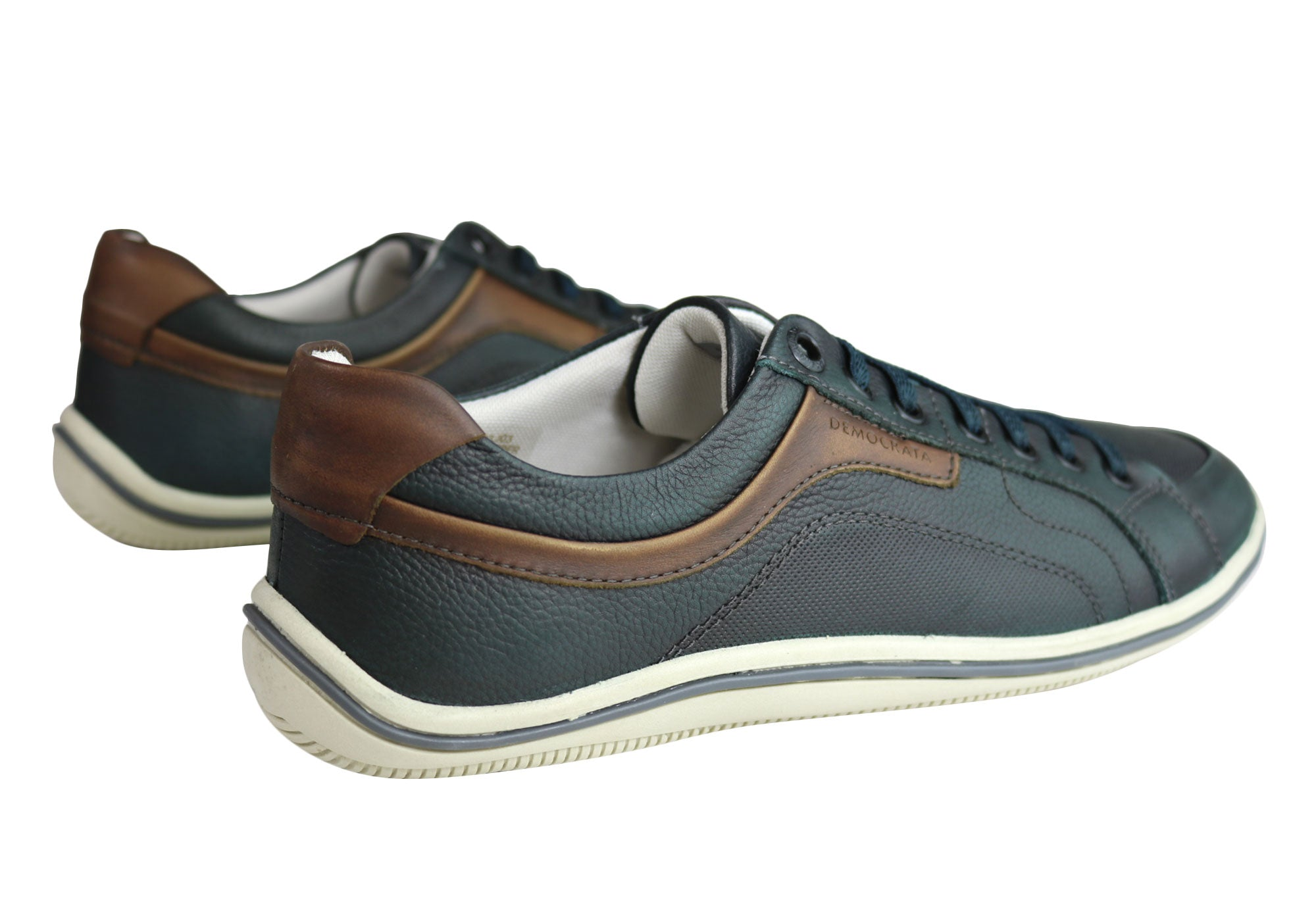 NEW-DEMOCRATA-MILES-MENS-LEATHER-SLIP-ON-CASUAL-SHOES-MADE-IN-BRAZIL thumbnail 11
