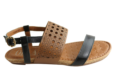 Orcade Gismo Womens Comfortable Leather Sandals Made In Brazil