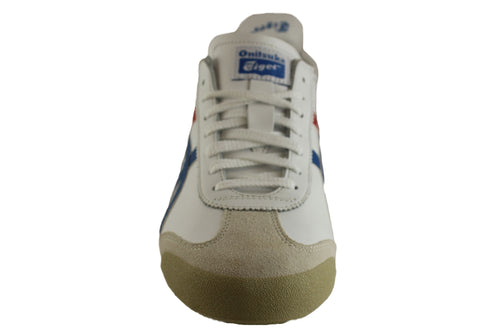 on sale 3d25b f7b61 Asics Onitsuka Tiger Mexico 66 Mens Leather Lace Up Casual Shoes | Brand  House Direct