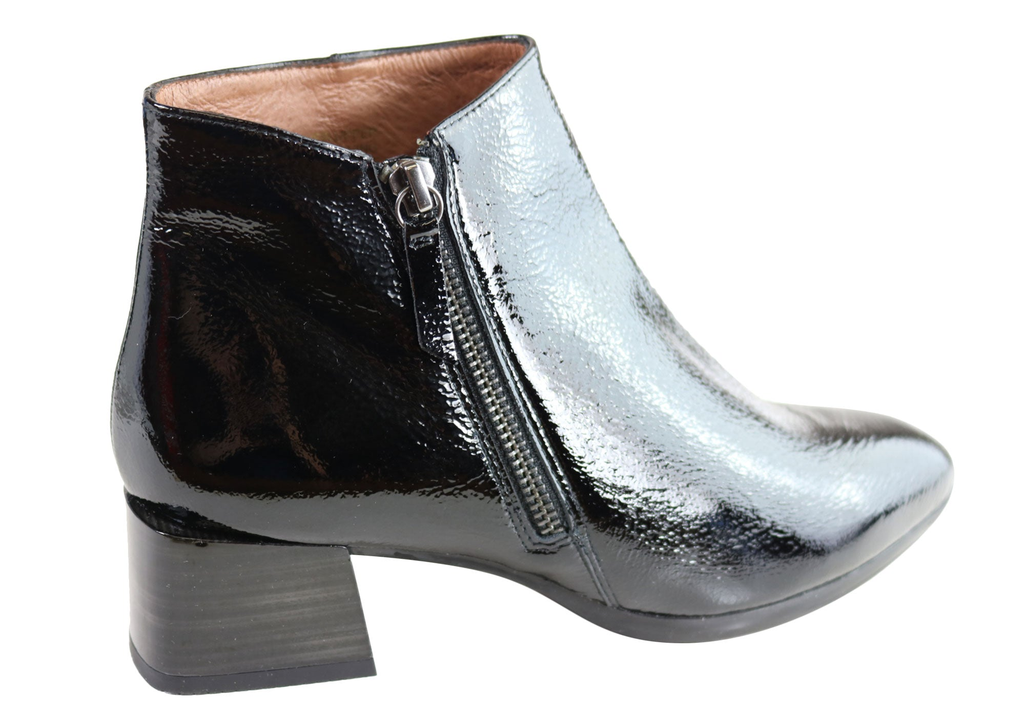 Hispanitas Womens HI99114 Nadia-I9 Leather Ankle Boots Made In Spain