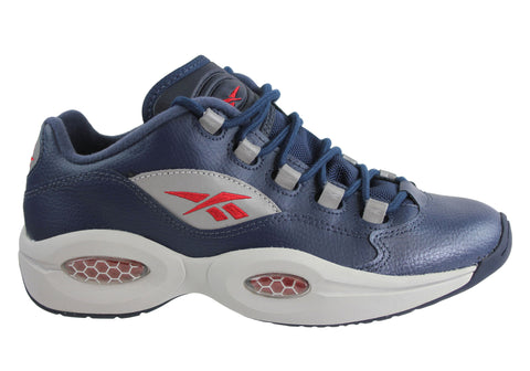 Reebok Question Low Older Boys Kids Basket Boots Hi Tops