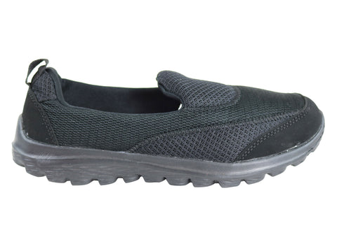 Aerosport Stride Womens Slip On Memory Foam Comfort Casual Shoes