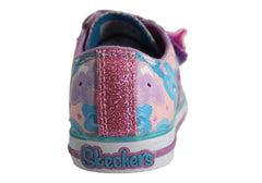 Skechers S Lights Chit Chat Glamour Days Toddler Shoes
