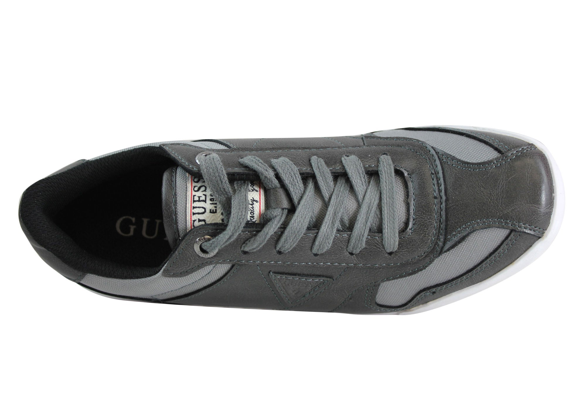 Guess Bartok Mens Comfortable Casual Lace Up Shoes