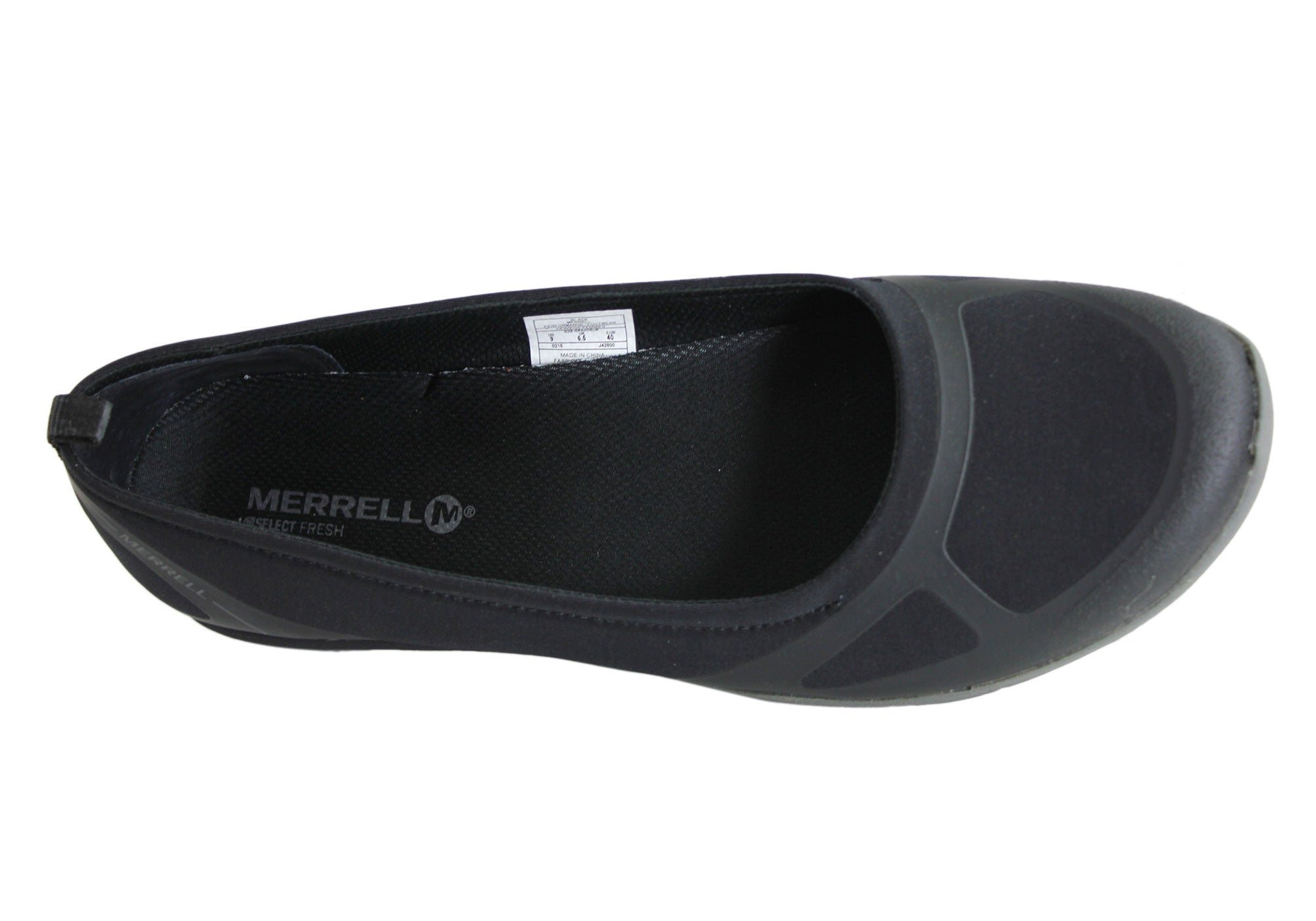 Merrell Ceylon Ballet Womens Comfortable Black Shoes