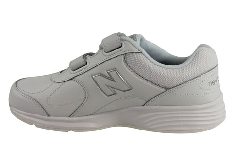 e55ccc67137 White  New Balance Walking March Mens Adjustable Strap Shoes Extra Wide ...