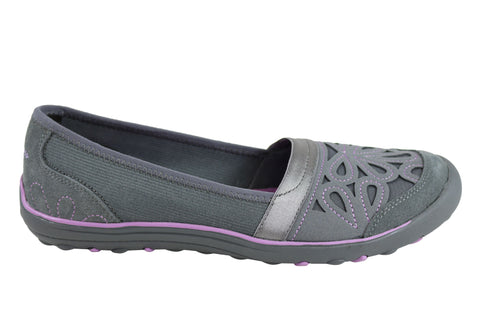 Skechers Earth Fest Repurpose Womens Memory Foam Casual Shoes