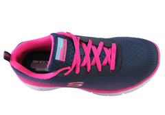 Skechers Equalizer Girls Kids Athletic Sport Shoes