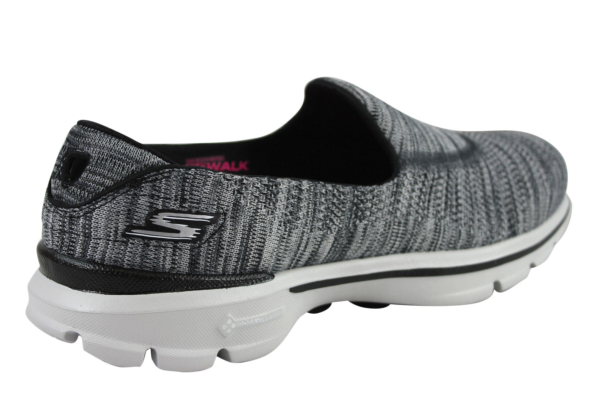 f74f535f4b39 Skechers Go Walk 3 Fitnit Extreme Womens Casual Slip On Shoes 13987 ...