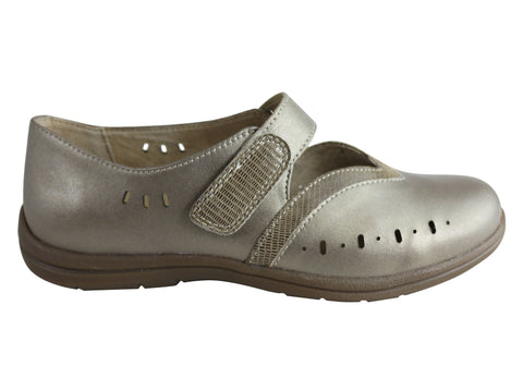 Homyped Joice Womens Comfortable Supportive Leather Mary Jane Shoes